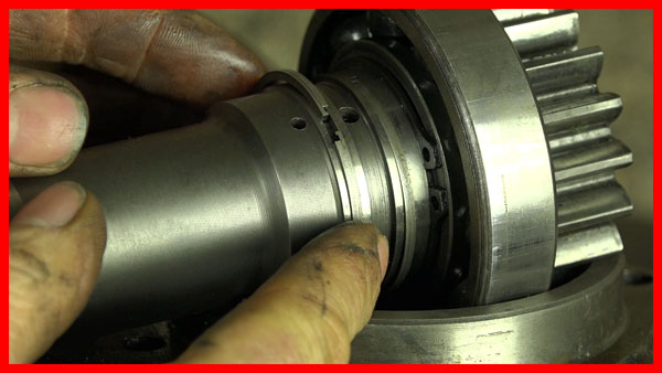 MF135 shaft seals