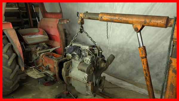Splitting the tractor